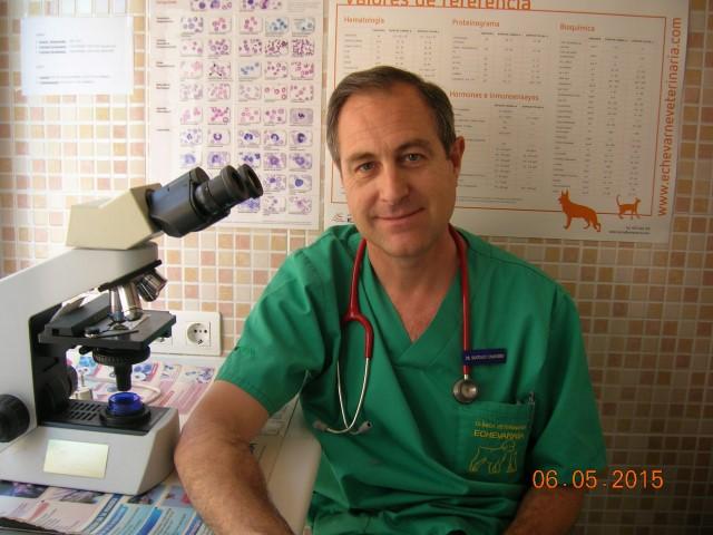 curso Auxiliar Técnico Veterinario - Dr. Santiago Camarero Domingo